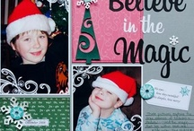 Christmas layouts / by Judy Dehoux