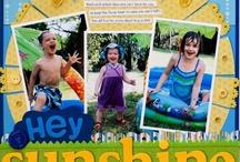 Summer layouts / by Judy Dehoux