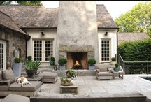 Fire Outdoor - places, pits, rings  / Ideas for adding fire to your landscape.