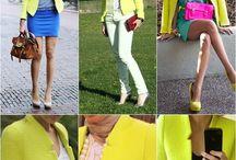Shades of Neon / #neonfashion