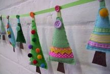Christmas Crafts / A collection of craft ideas for Christmas. #christmascrafts #crafts #craftideas