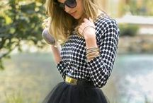 Shades of Monochrome / Monochrome fashion, the best of black and white