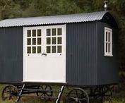 Sheperds hut / sheperd huts, huts. caravan, trailer, small spaces