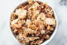 Food / Granola and bars / granola, homemade, healthy, vegan