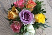 Blomster i anledningen af min fødselsdag / Billeder af mine blomsterbuketter i anledningen af min 50 års fødseldag