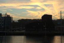 Billeder fra Odense havn / Odense havn - set gennem mit kamera