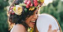 MARIAGE BOHEME, GIPSY, HIPPIE / Mes inspirations de mariage à l'univers bohème, hippie et un peu sauvage :)