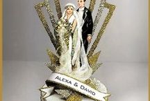 Wedding Cake Toppers / Favors