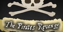 The Pirates Revenge Murder Mystery Party Ideas / For the hosts and guests of The Pirates Revenge murder mystery party investigation game, available from Shot In The Dark Mysteries at http://www.shotinthedarkmysteries.com/the-pirates-revenge-murder-mystery-party-gateway/  #pirate #Party #talklikeapirate #mystery party #murdermystery