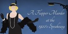 A Flapper Murder at the 1920s Speakeasy party ideas