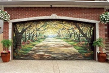 Mural Inspiration / Mural Painting Ideas for Decorative Artists from Creative Arts Lifestyle and Patricia Rawlinson