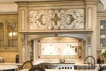 Grand European Casual Kitchen