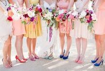 bold as love / Wedding inspiration for bright, colorful, alternative weddings