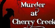 Western - Murder at the Cherry Creek Saloon / Murder Mystery Party ideas for western-themed mystery parties, like Murder at the Cherry Creek Saloon, an interactive murder mystery investigation party game available at http://www.shotinthedarkmysteries.com/murder-at-cherry-creek-saloon-interactive-mingle-murder-mystery-party-game/