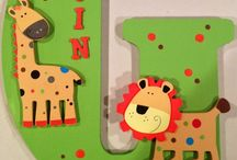 Letter Funzy / Letters for nursery walls