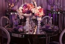 Radiant Orchid / Celebrating the 2014 Pantone Color of the Year / by Posh & Private Event Design