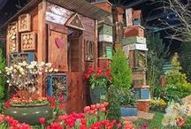 "NWFGS 2015 - Romance Blossoms / The 2015 Northwest Flower & Garden Show on February 11-15th was themed ""Romance Blossoms."" We are posting romantic gardens and behind the scene photos from the upcoming Show. #SpringinFeb / by Northwest Flower & Garden Show"