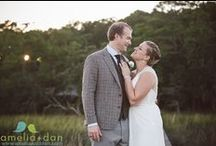 Edisto Island, Brookland Pointe Wedding / A small ceremony, fabulous party, cool music and warm donuts; this Edisto Island wedding had it all!