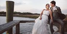 Boone Hall Plantation Weddings / From the stately Avenue of Oaks to the rustic Cotton Dock, Boone Hall Plantation oozes Southern charm. We love shooting weddings here, just take a look!