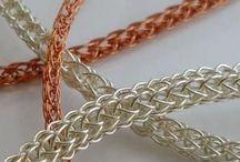 Viking wire knitting