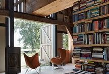 Living with Books / Home libraries ..grand and small.  / by Karyn Armour