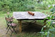 outdoor dining........... / patios   porches   decks    beaches   orchards.....wherever! / by Karyn Armour