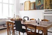 Dining spaces... / My taste is so varied....from understated to 'more is more'..... modern, rustic, traditional, handmade...everything in between. / by Karyn Armour