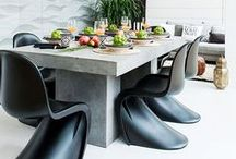 Panton S Chair / Verner Panton created this chair in the 60's. I am smitten.....bordering on obsessed.. / by Karyn Armour