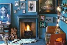 Turquoise   aqua  Teal..and all the variations of this shade of blue / I am drawn to all sorts of things in the various shades of this colour!  Little bits of it and entire rooms.... / by Karyn Armour