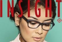 Insight / Optik Melawai's free bi-annual-magazine about eye health, fashion, and life style