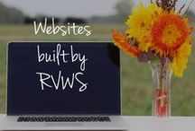 Websites Built by RVWS / Websites created by Rebecca VanDenBerg Web Services