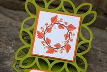 Fall/Autumn/Thanksgiving / Inspiration for Fall and Autumn project using my cutting machine