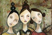 Artist - Kelly Rae Roberts / Kelly Rae Roberts art.