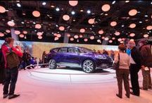 Brussels Autosalon - Initiale Paris concept car / The Initiale Paris concept car is on the top of the bump on the #Renault stand at the Brussels Motor Show between January 16 to 26, 2014. #InitialeParis  / by Renault Official