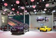 Beijing Auto Show - Initiale Paris concept car / The #InitialeParis #conceptcar is shining on the #Renault stand at the #Beijing Auto Show. / by Renault Official