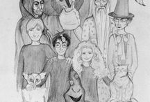The Boy Who Lived / Harry Potter / by Erika Kimmich