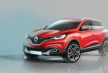 "Birth of RENAULT KADJAR / RENAULT KADJAR : a crossover with the power to seduce (revealed on February 2 2015)  Renault has taken an assertive stance in the C-segment crossover market with a design that expresses dynamism, strenth and adventure.   ""With its fluid, athletic design - which marks a break from the segment's traditional trends - the Renault Kadjar injects an element of spirit and emotion into the crossover world"" Laurens van den Acker, head of Renault Design / by Renault Official"