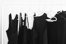 """LBD / """"One is never over-dressed or under-dressed with a Little Black Dress."""" —Karl Lagerfeld"""