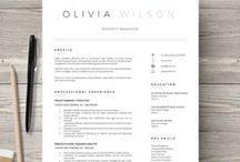 Career Tips & Resumes / Designing resumes, resume layout, job searching, creative resumes, how to write a resume, get that job, marketing, resume, layout designs, career tips, career change