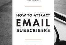 Email Marketing / email marketing, creating content, sending newsletters, writing newsletters, grow your email list, email lists, offer freebies, mailchimp, constant contact, sumo, mailpoet, marketing, email opt-ins