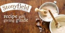 Recipe Gift Giving Guide / Give the gift of scrumptious, homemade treats this holiday season! Our Recipe Gift Giving guide is jam packed with 'yogified' recipes to please everyone on your list, even your pets!