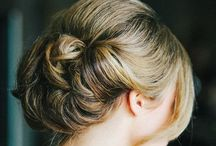 Hair/updo / by Rebecca Whisenant