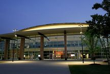 The Arena at Infinite Energy Center (formerly The Arena at Gwinnett Center) / From hockey and lacrosse to concerts to family shows, The Arena can handle it. With a seating capacity of 13,000, The Arena features a state-of-the-art house reduction system which can easily convert the space for groups ranging from 3,500 to 13,000. The Arena includes 36 corporate suites, 2 party suites, club level seats, a spacious concourse, wider seats, a high-end sound system and acoustical enhancements to provide the best environment for experiencing a wide range of events.