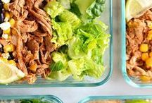 Meal Planning / How to meal plan: clean eating meal planning and meal prep tips to save time and money while cooking.  Womanista.com