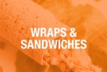 "Recipes: Skinny Wraps & Sandwiches / Get the ""skinny"" on our sandwiches and wraps that are not only simple to make, but healthy too! / by Skinny Mom"