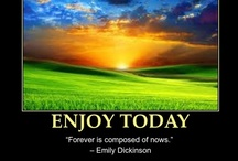 ENJOY TODAY / Life is so short!