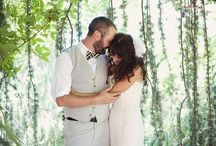 Woodland Wedding Ideas / Inspiration from nature, woodsy, natural, casual / by Dana Grant