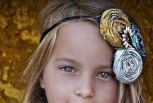 Hair Accessories I Love / Headbands and hair clips for photo shoots