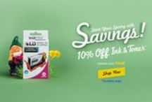 Printer ink coupons & deals. / Check back here for coupon codes and deals!