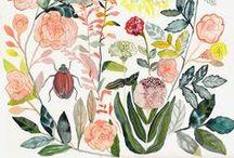 Paintings + prints